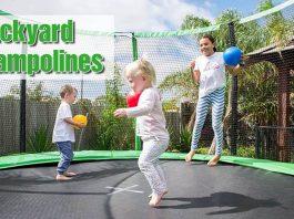 backyard brampolines