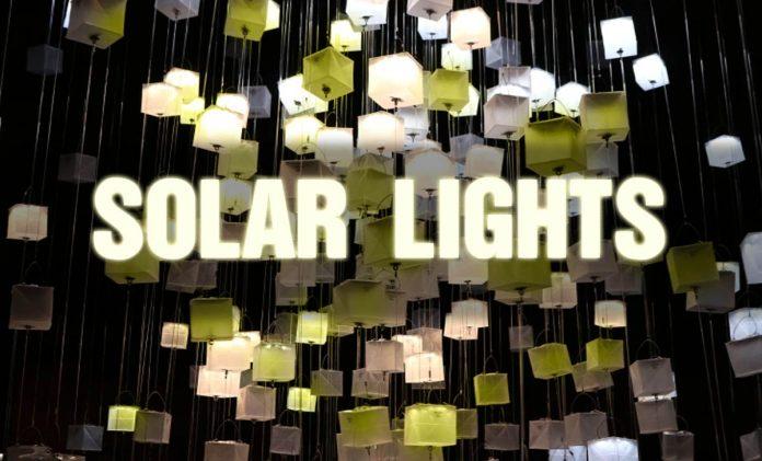 outdoor led solar lighting