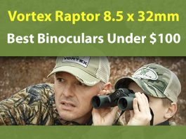 Vortex Raptor 8.5 x 32mm